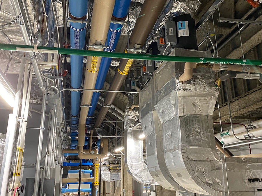 HVAC Mechanical Piping